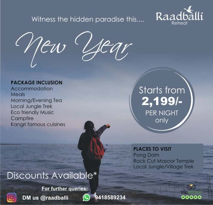 New year packages in dharamshala